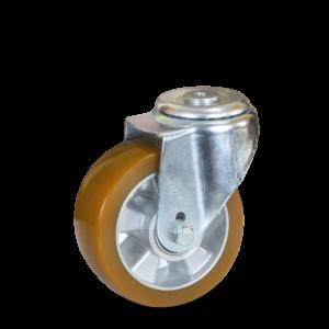 Koło aluminiowo-poliuretanowe na otwór