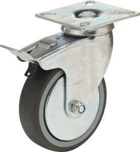 koło z bieżnikeim z gumy termoplastycznej
