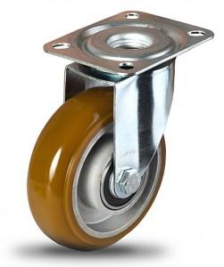 koło aluminiowo-poliuretanowe Ergoforma