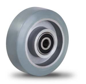 Koło gumowo aluminiowe