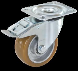 Koło aluminiowo poliuretanowe