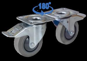zestaw samonastawny kierunkowy do wózków AGV