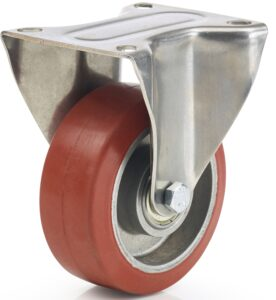 koło bieżnikiem gumowym do wysokich temperatur